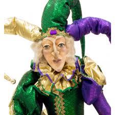 sized mardi gras jester doll 55 xn4012 mardigrasoutlet