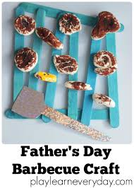 father u0027s day barbecue craft play and learn every day