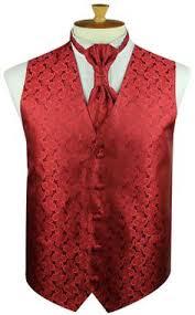 peterborough red vest set for boys or men comes with vest hankie