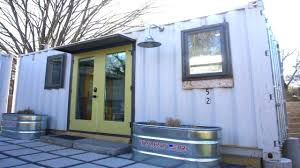 tiny home industrial shipping container house small house design