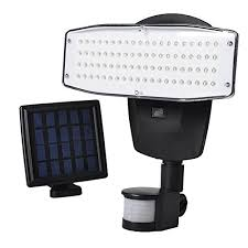 Led Solar Security Light With Motion Detector by Solar Lights Outdoor 80 Led Solar Powered Security Lights