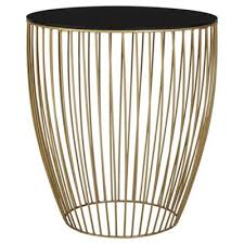 Wire Side Table Buy Wire Metallic Table From Our Side L Tables Range Tesco
