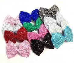 bow for hair girl fashion shining brand new diamante bow hair