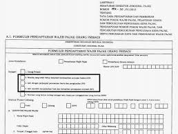 contoh surat pernyataan format a1 npwp istri apakah ikut suami ataukah harus punya sendiri