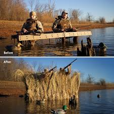 Floating Duck Blind For Sale Fast Strike Complete Two Arm Blind Package Rogers Sporting Goods