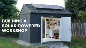 building a solar powered workshop youtube