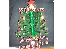 how to make christmas tree with plastic bottle christmas