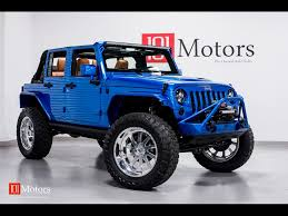 hydro blue jeep 2015 jeep wrangler unlimited sport for sale in tempe az stock