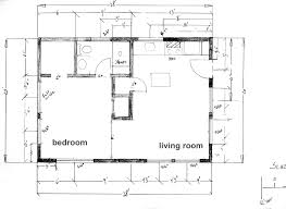 floor plan u2013 cabin at the beach under 600 square feet