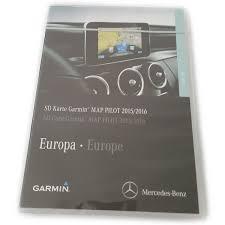Becker Map Pilot Mercedes Garmin Map Pilot 2015 2016 Sd Karte Audio 20 A2139062604
