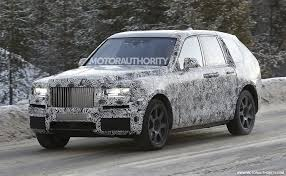 suv rolls royce 2019 rolls royce cullinan spy shots and video news about cool cars
