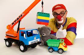 lego toys videos car clown big dump truck u0026 teddy bear kids
