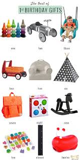 the best of first birthday gifts for the modern baby baby momma