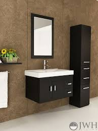 Wall Mounted Bathroom Cabinets Modern Stunning Nice Wall Mounted Vanities For Small Bathrooms 31 Inch