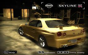 ricer skyline need for speed most wanted nissan skyline gt r r34 1999 nfscars