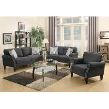 Attractive Modern Living Room Sets Harrison  Piece Leather Living - Modern living room set