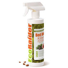 EcoRaider  Oz Natural And NonToxic Bed Bug Killer Spray Bottle - Non toxic childrens bedroom furniture