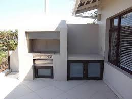 Patio Braai Designs 47 Marina Drive Self Catering Accommodation South Coast Kzn Self