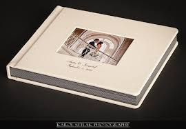 leather bound wedding albums wedding album leather karolsetlak