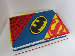 superhero cakes kids ll bring dessert birthdays cakes