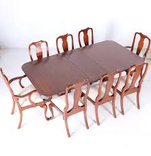 Henkel Harris Dining Room Furniture Henkel Harris Wild Black Cherry Dining Table And Chairs Ebth