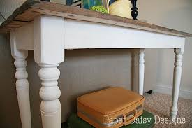 how to make a rustic table build a rustic sofa table make new wood look old deeplysouthernhome
