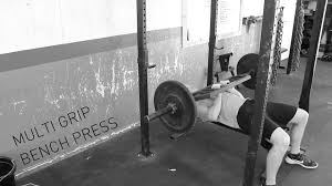 multi grip bench press youtube