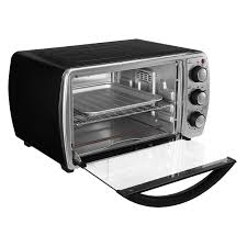 Turbo Toaster Oven Oster 6 Slice Convection Toaster Oven Black Tssttvcgbk Oster