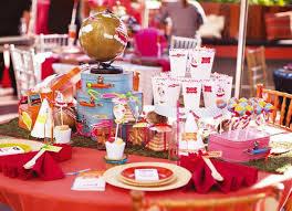 table enfant mariage décoration de mariage une table d enfants originale