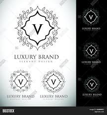 design logo elegant luxury letter logo simple elegant vector photo bigstock