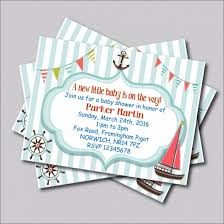 free nautical baby shower party invitations templates u2014 anouk