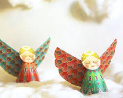 ornaments papercraft diy paper tree home decor