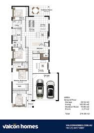 Azure Floor Plan Azure 215 Valcon Homes