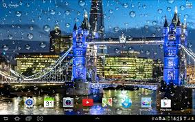 rainy london live wallpaper android apps on google play