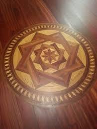 hardwood flooring floor medallion inlay so pretty search