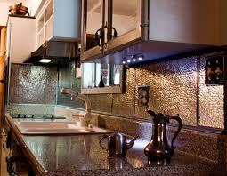kitchen backsplash metal metal kitchen backsplash cool kitchen metal backsplash home