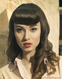 top 12 retro hairstyles with bangs back with a bang u2013 hairstyles