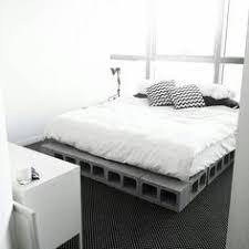 Concrete Block Bed Frame Diy Concrete Block Bedframe Diy Concrete Concrete And Room Ideas