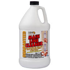 Acid For Bathroom Cleaning Instant Power 128 Oz Main Line Cleaner 1801 The Home Depot
