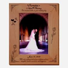 wedding wishes personalized photo frame picture frames