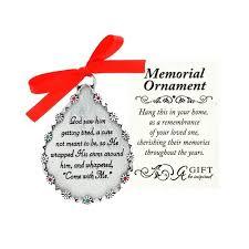god saw him memorial ornament the catholic company
