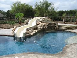 fascinating 10 backyard pools with slides decorating design of