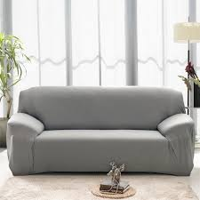 housse universelle canapé housse de canapé 4 places élastique protecteur de canapé pour