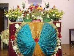 altar decorations murasancode parish komanvilai feast second day altar