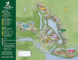 Disney World Maps Map Of Port Orleans Riverside At Disney World My Blog
