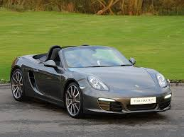 boxster porsche black current inventory tom hartley