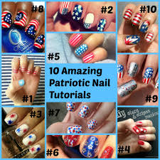patriotic nails roundup saved by grace