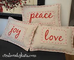 Christmas Pillows Pottery Barn Pottery Barn Christmas Pillow Knock Off