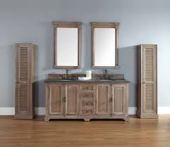 Double Vanity With Tower Outstanding Rustic Double Bathroom Vanities Using Unfinished