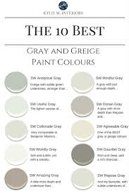 sherwin williams the 10 best gray and greige paint coloursbest